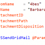 PSSendgrid: Send email from PowerShell with Sendgrid