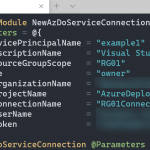 Create an Azure DevOps service connection to Azure with PowerShell